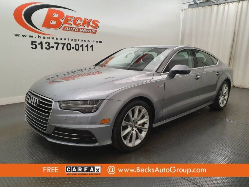 2016 Audi A7 for sale at Becks Auto Group in Mason OH