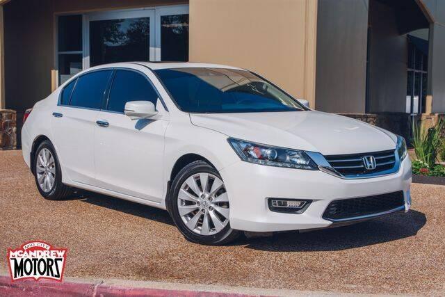 2013 Honda Accord for sale at Mcandrew Motors in Arlington TX