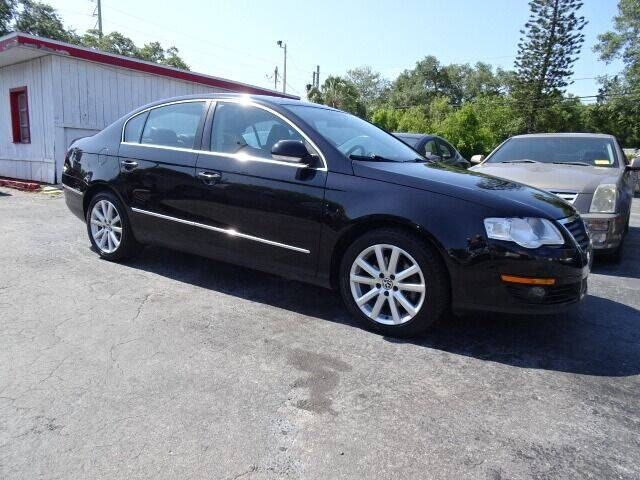 2010 Volkswagen Passat for sale at DONNY MILLS AUTO SALES in Largo FL