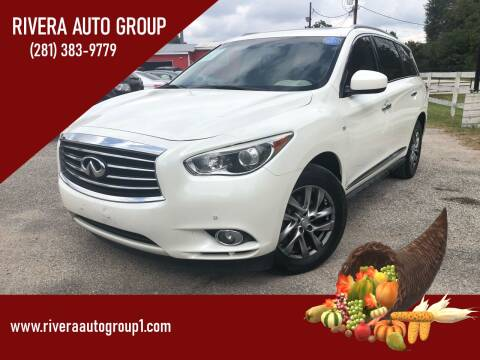 2015 Infiniti QX60 for sale at Rivera Auto Group in Spring TX