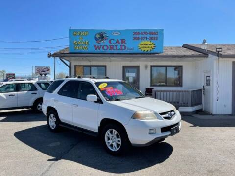 2005 Acura MDX for sale at CAR WORLD in Nampa ID