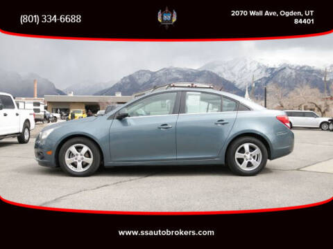 2012 Chevrolet Cruze for sale at S S Auto Brokers in Ogden UT