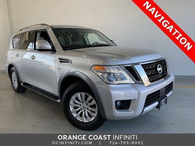 2017 Nissan Armada for sale at ORANGE COAST CARS in Westminster CA