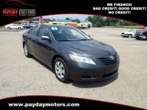 2007 Toyota Camry for sale at Payday Motors in Wichita KS
