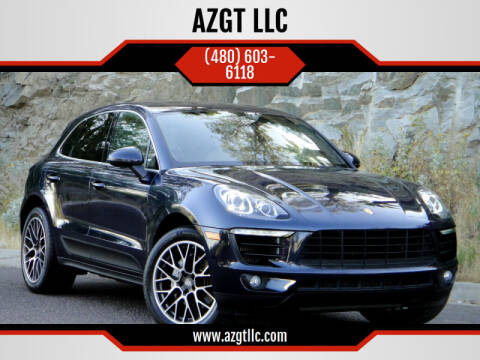 2017 Porsche Macan for sale at AZGT LLC in Phoenix AZ