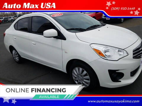 2017 Mitsubishi Mirage G4 for sale at Auto Max USA in Yakima WA