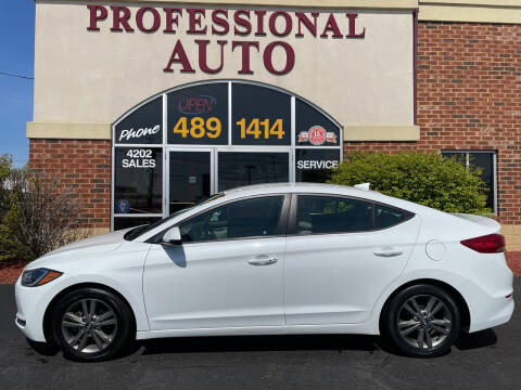 2017 Hyundai Elantra for sale at Professional Auto Sales & Service in Fort Wayne IN
