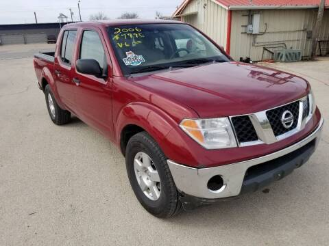 2006 Nissan Frontier for sale at Key City Motors in Abilene TX