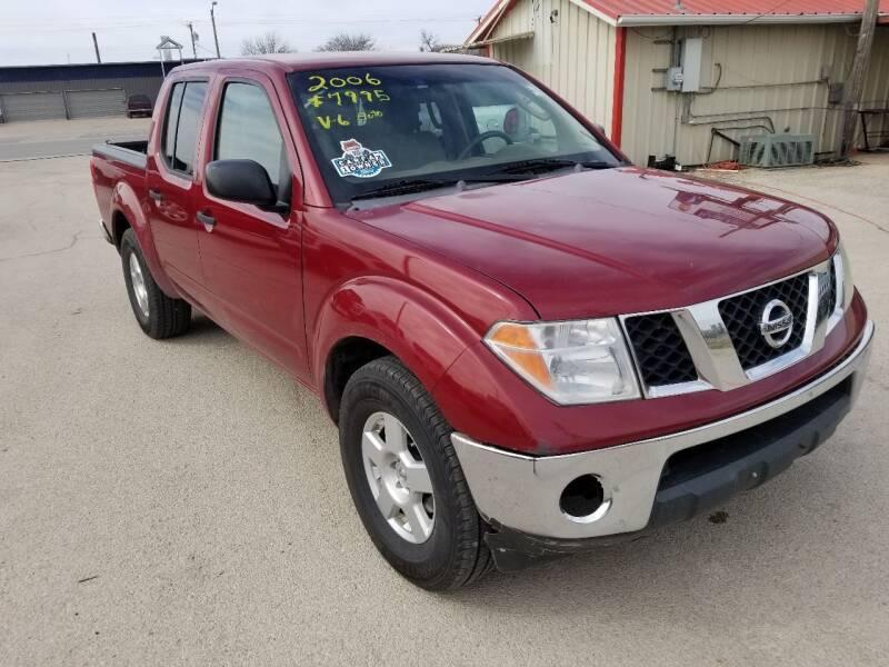 2006 Nissan Frontier for sale at Key City Motors in Abilene TX
