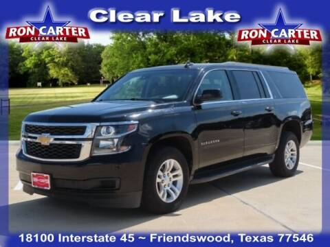 2016 Chevrolet Suburban for sale at Ron Carter  Clear Lake Used Cars in Houston TX