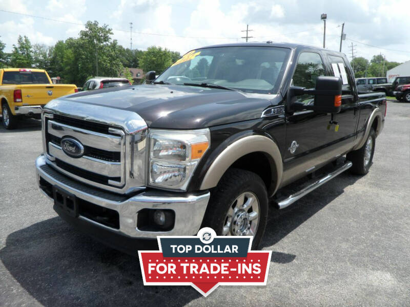 2013 Ford F-250 Super Duty for sale at CARSON MOTORS in Cloverdale IN