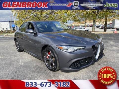 2018 Alfa Romeo Giulia for sale at Glenbrook Dodge Chrysler Jeep Ram and Fiat in Fort Wayne IN