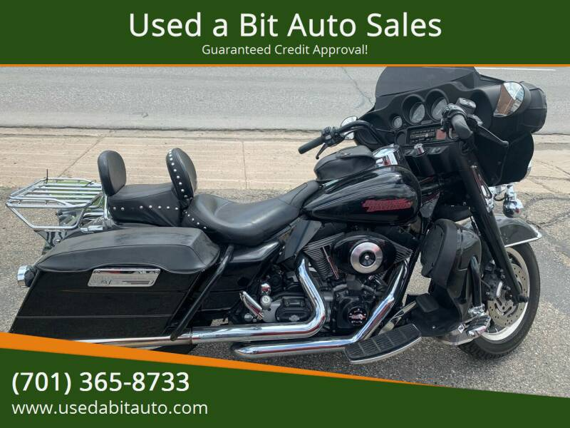 2005 Harley-Davidson Electra Glide for sale at Used a Bit Auto Sales in Fargo ND