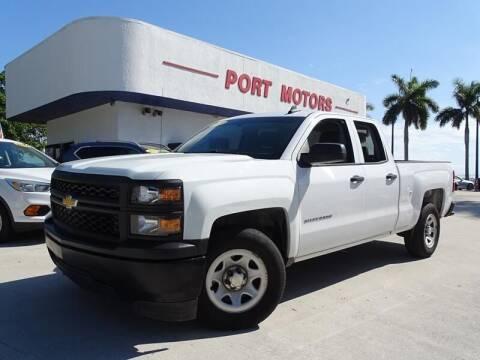 2015 Chevrolet Silverado 1500 for sale at Port Motors in West Palm Beach FL