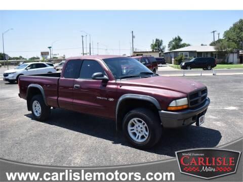 2002 Dodge Dakota for sale at Carlisle Motors in Lubbock TX