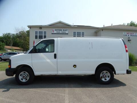 2010 GMC Savana Cargo for sale at SOUTHERN SELECT AUTO SALES in Medina OH