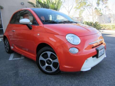 2013 FIAT 500e for sale at ORANGE COUNTY AUTO WHOLESALE in Irvine CA