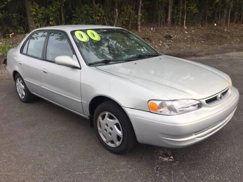 2000 Toyota Corolla for sale at North Chicago Car Sales Inc in Waukegan IL