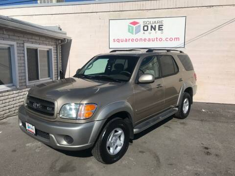 2001 Toyota Sequoia for sale at SQUARE ONE AUTO LLC in Murray UT