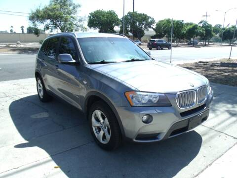 2012 BMW X3 for sale at Hollywood Auto Brokers in Los Angeles CA