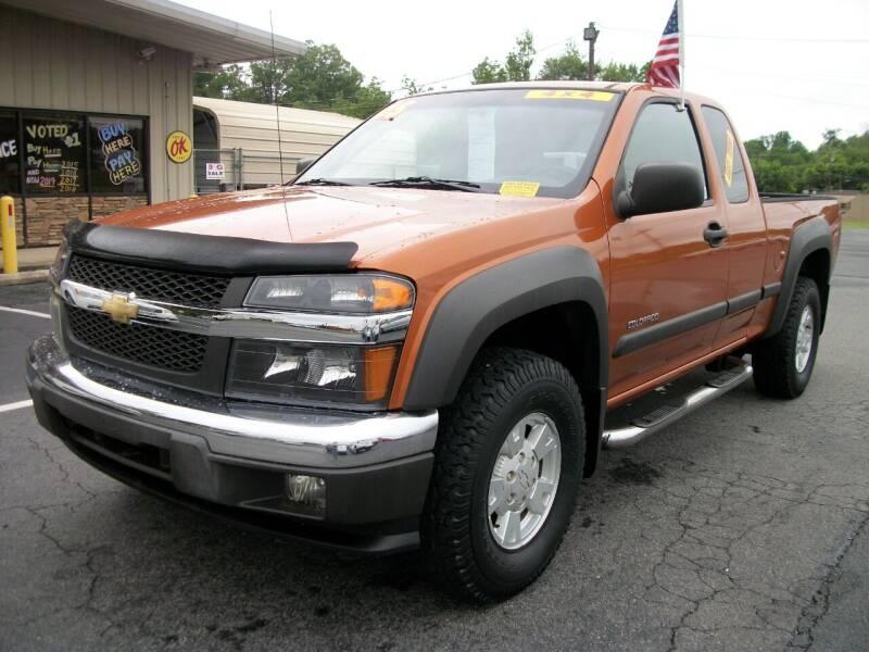 2005 Chevrolet Colorado for sale at Lentz's Auto Sales in Albemarle NC