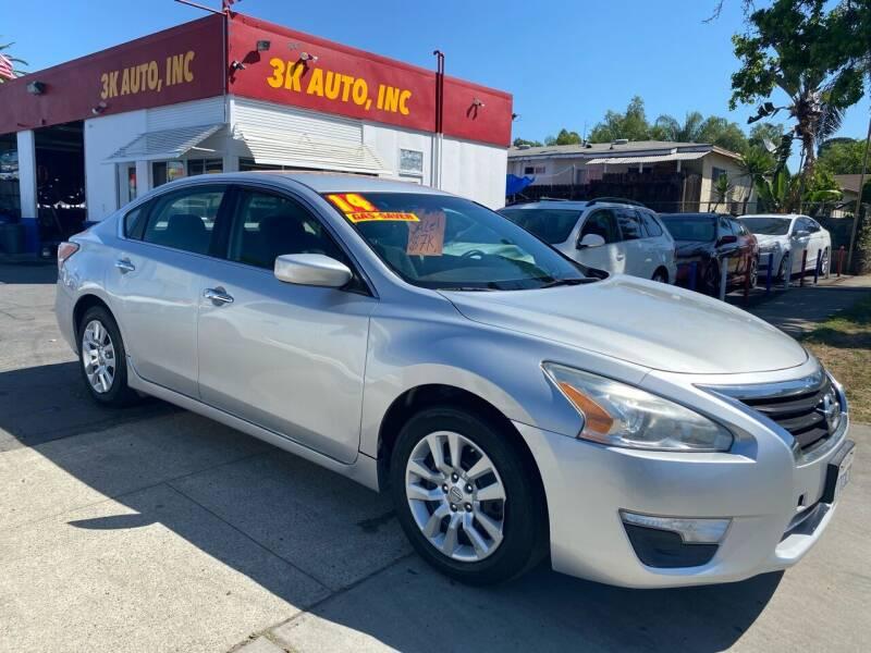 2014 Nissan Altima for sale at 3K Auto in Escondido CA