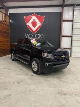 2021 Chevrolet Colorado for sale at A & V MOTORS in Hidalgo TX