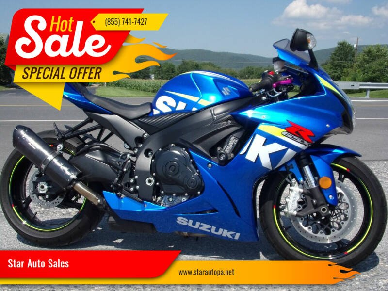 2015 Suzuki GSX-R600 for sale at Star Auto Sales in Fayetteville PA