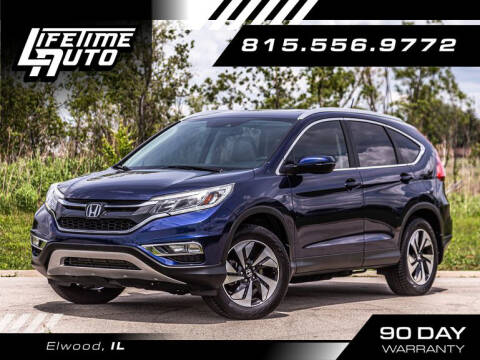 2015 Honda CR-V for sale at Lifetime Auto in Elwood IL