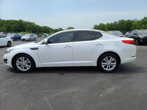 2013 Kia Optima for sale at CARS PLUS CREDIT in Independence MO
