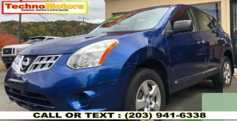 2011 Nissan Rogue for sale at Techno Motors in Danbury CT