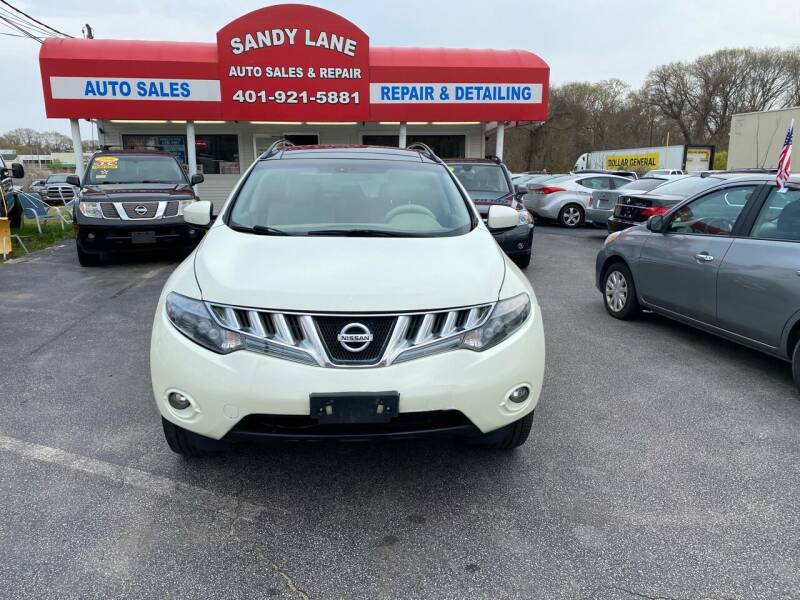 2010 Nissan Murano for sale at Sandy Lane Auto Sales and Repair in Warwick RI