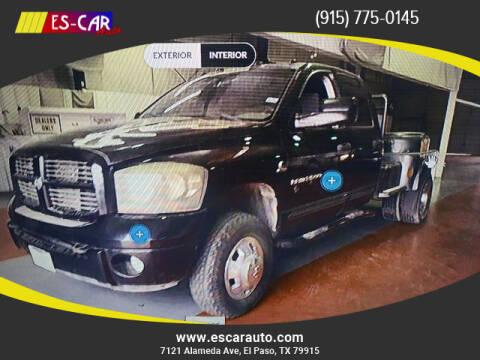 2006 Dodge Ram Pickup 3500 for sale at Escar Auto in El Paso TX