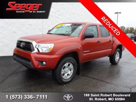 2015 Toyota Tacoma for sale at SEEGER TOYOTA OF ST ROBERT in St Robert MO