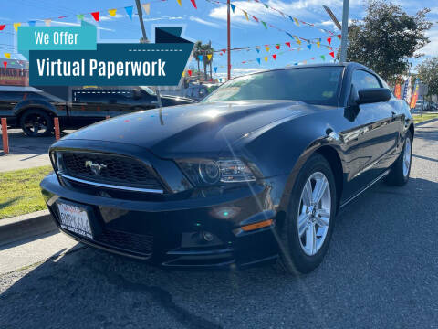 2014 Ford Mustang for sale at Credit World Auto Sales in Fresno CA