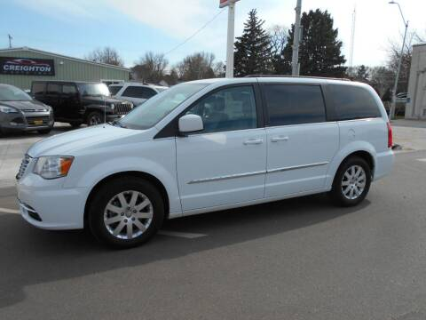 2014 Chrysler Town and Country for sale at Creighton Auto & Body Shop in Creighton NE
