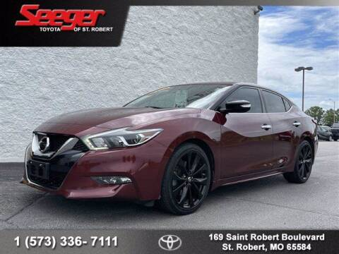 2017 Nissan Maxima for sale at SEEGER TOYOTA OF ST ROBERT in St Robert MO