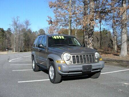 2006 Jeep Liberty for sale at RICH AUTOMOTIVE Inc in High Point NC