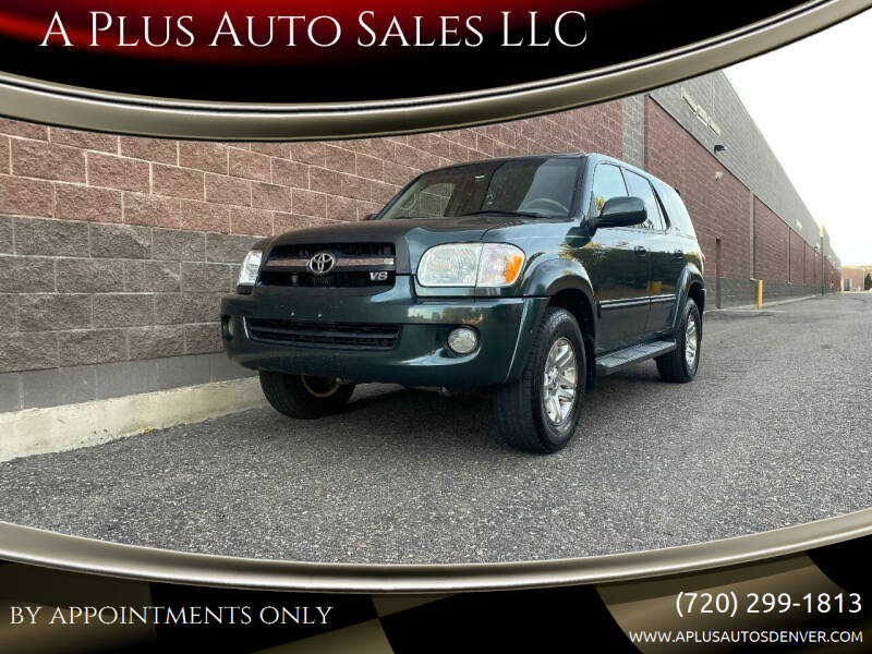 2006 Toyota Sequoia for sale at A Plus Auto Sales LLC in Denver CO