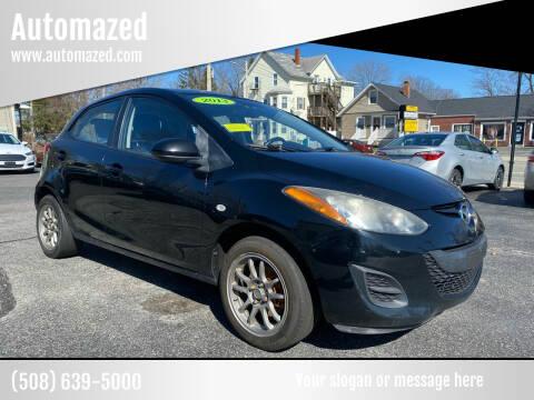 2013 Mazda MAZDA2 for sale at Automazed in Attleboro MA