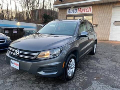 2012 Volkswagen Tiguan for sale at Auto Match in Waterbury CT