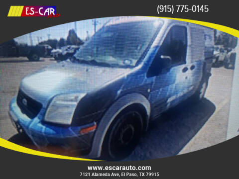 2010 Ford Transit Connect for sale at Escar Auto in El Paso TX