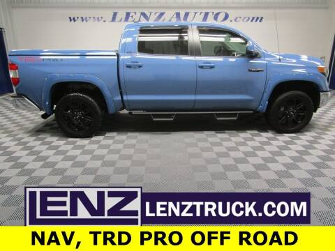 2019 Toyota Tundra for sale at LENZ TRUCK CENTER in Fond Du Lac WI