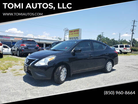 2016 Nissan Versa for sale at TOMI AUTOS, LLC in Panama City FL