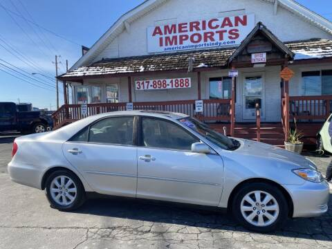 2002 Toyota Camry for sale at American Imports INC in Indianapolis IN