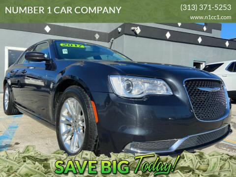2017 Chrysler 300 for sale at NUMBER 1 CAR COMPANY in Detroit MI