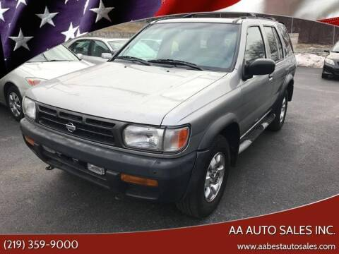 1999 Nissan Pathfinder for sale at AA Auto Sales Inc. in Gary IN