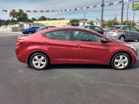 2013 Hyundai Elantra for sale at Kenny's Auto Sales Inc. in Lowell NC