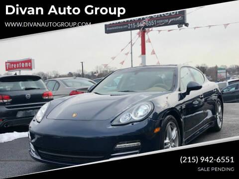 2011 Porsche Panamera for sale at Divan Auto Group in Feasterville Trevose PA