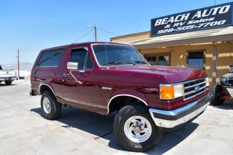 1989 Ford Bronco for sale at Beach Auto and RV Sales in Lake Havasu City AZ